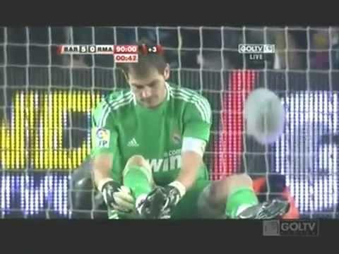 Barcelona Vs Real Madrid 5-0 29 11 10 video