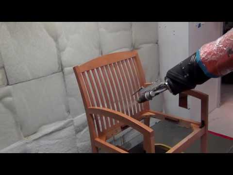 Prime Heat Robotic Spraying Close Up