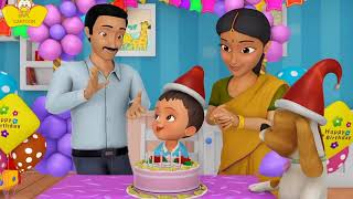 Happy  barth day song in hindi HD from SNPL CARTOON