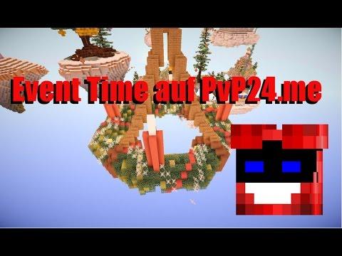 Minecraft 1.8 EventTime auf Pvp24.me [Deutsch+HD] #Devilfliegt