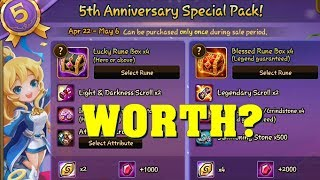 Summoners War - WORTH? 5th Anniversary Special Packs!