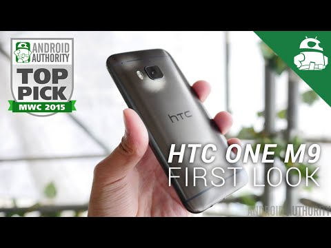 HTC One M9 First Look!