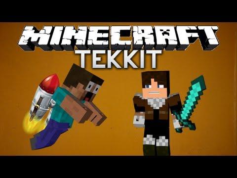 Minecraft: Tekkit with Keralis - JETPACK! (Guest on episode 6)