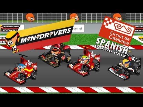 MiniDrivers - Chapter 5x05 - 2013 Spanish Grand Prix