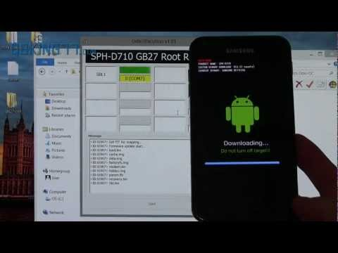Video: How to Root the Samsung Epic 4G Touch on Jelly Bean GB27