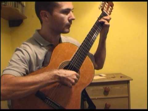 Fernando Sor Op. 35 No. 13 C Major, Segovia study 2
