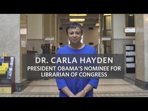 Meet President Obama's Nominee for Librarian of Congress