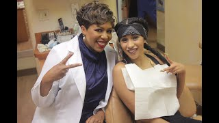"""Cardi B's dentist, Dr. Catrice Austin discusses """"got a bag and fixed my teeth"""""""
