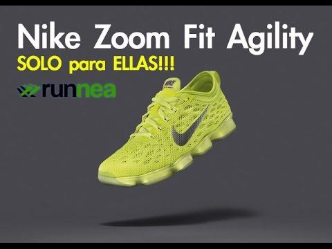 Nike Zoom Fit Agility, zapatillas de entrenamiento para mujer con amortiguacio?n reactiva