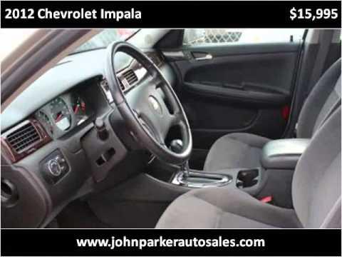 2012 Chevrolet Impala Used Cars Houston TX
