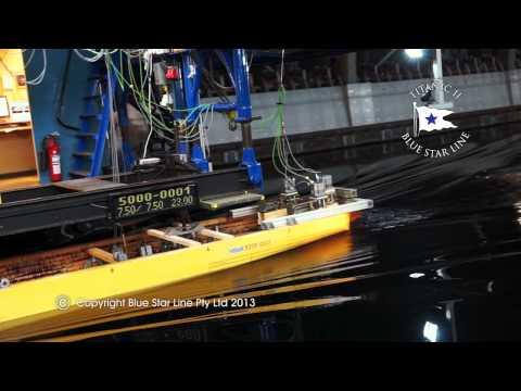 Titanic II Model Test - Hamburg. Germany - September 2013