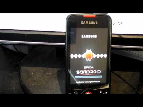 Galaxy Spica Android 2.2 Cyanogenmod Tutorial