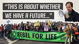 CLIMATE CATASTROPHE: The Case For Rebellion | Dr Rupert Read Talk