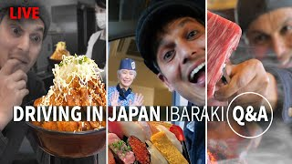 Q&A Driving in Japan | The Ibaraki Trilogy