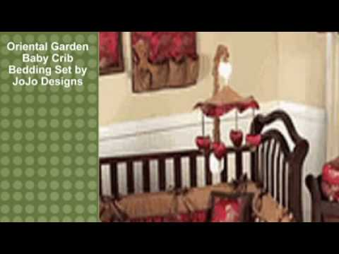 0 Oriental Garden Baby Crib Bedding Set by JoJo Designs