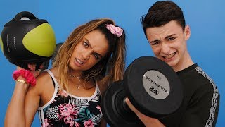 Sommer Ray and I Become Gym BFFs | Noah Schnapp