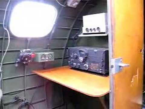 B-17 radio compartment