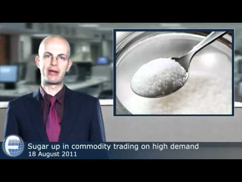 Sugar up in commodity trading on high demand