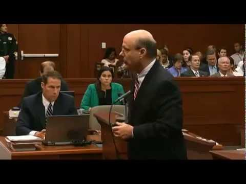 George Zimmerman Trial - Prosecution Closing Arguments - Part 1 - July 11, 2013