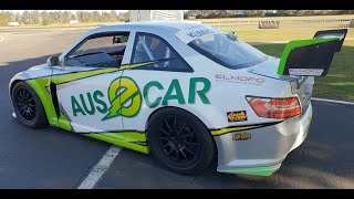 AUS-E-CAR Electric Aussie Racing Car