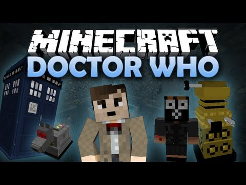 Minecraft: Doctor Who! Dalek Mod with Tardis. Dalek. Sonic Screwdriver. and more! [1.6.2] (HD)