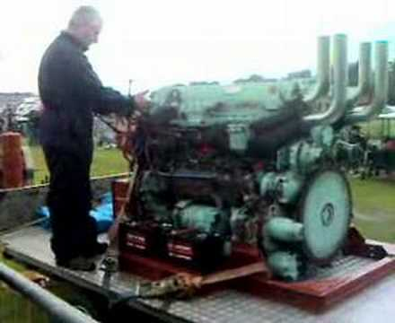 leyland l60 6 cylinder 12 piston engine (monster)