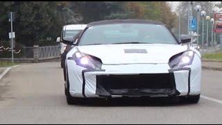Ferrari 812 Superfast Driving on the Road | 2017 Ferrari 812 Superfast Driving Sounds in Maranello