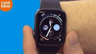 Hoe stel ik Apple Watch in voor linkshandig gebruik?