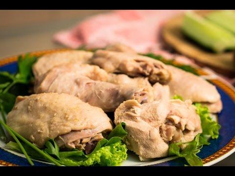 Курица, сваренная в луковом соке | Эксперимент!