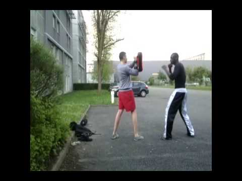 martial arts training SAVATE, MUAY THAI, KICK BOXING. 02/05/2013 Image 1
