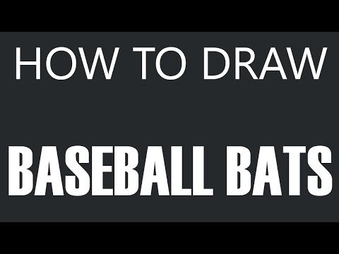 Baseball Bats Drawings How to Draw a Baseball Bat
