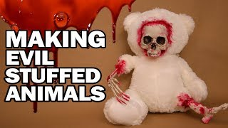 👻 DIY Haunted Stuffed Animals
