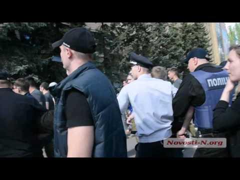 Видео Новости-N: В Николаеве на 9 мая конфликт с афганцами