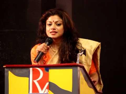 Actress Jayathi Guha in Angusam Press Meet Photo Image Pic