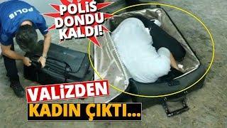 Türkiye'ye Kaçak Yollarla Girmeye Çalışan Gürcistan Uyruklu Kadın Valizden Çıktı