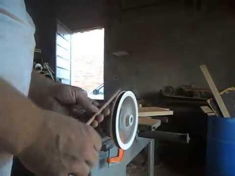 como arredondar madeiras