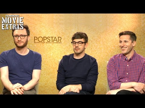 Andy Samberg, Jorma Taccone And Akiva Schaffer Talk About Popstar Never Stop Never Stopping (2016)