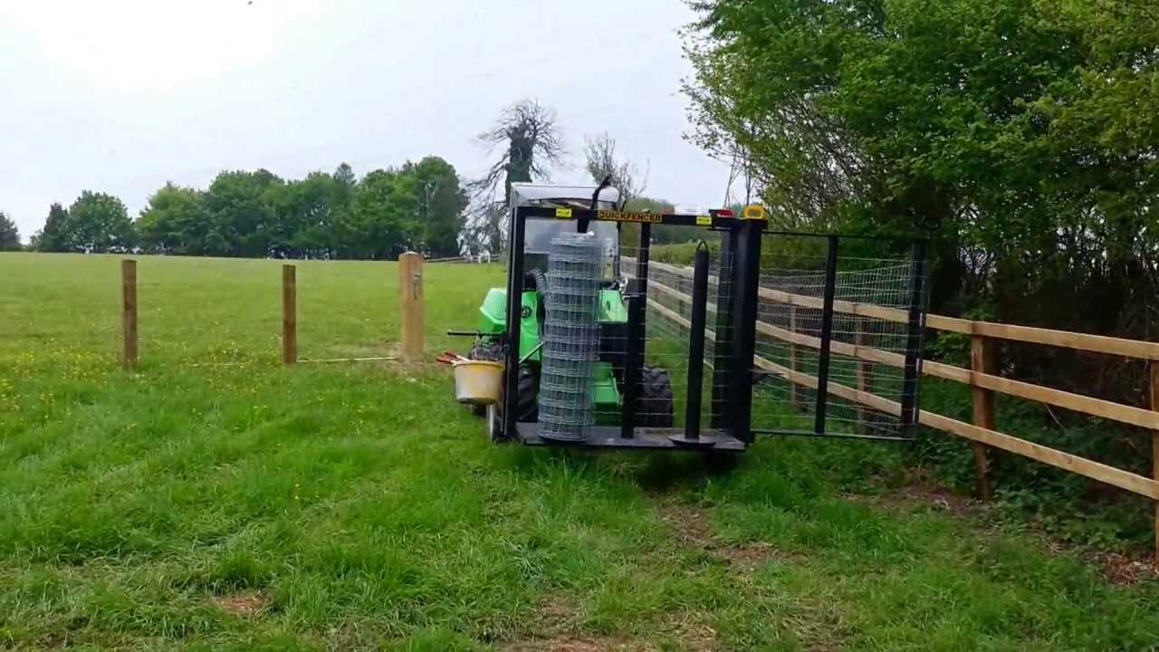 Field Estate Stock And Equestrian Wire Fencing With An