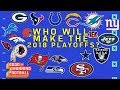 Which Non-Playoff Teams from Last Year Will Make it in 2018? | NFL Network