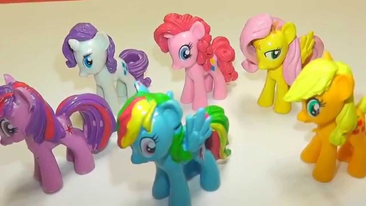 My Little Pony Toy Food : Play doh my little pony friendship is magic dolls by