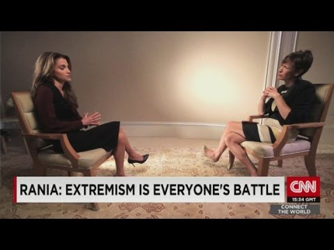 Queen Rania on refugee crisis, rise of ISIS