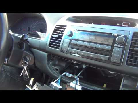GTA Car Kits - Toyota Camry 2002-2006 install of iPhone. Ipod and AUX adapter for factory stereo