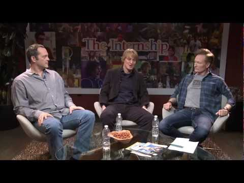 Google Play presents: Vince Vaughn and Owen Wilson debut The Internship trailer, with Conan O'Brien