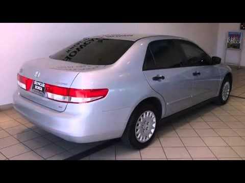 2004 Honda Accord 2 4 Dx In Phoenix Az 85014 Youtube