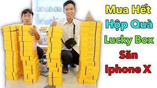 LamTV - Bỏ 5 Triệu Mua Hết Hộp Quà May Mắn Trong Máy Lucky Box VIP Săn Iphone X