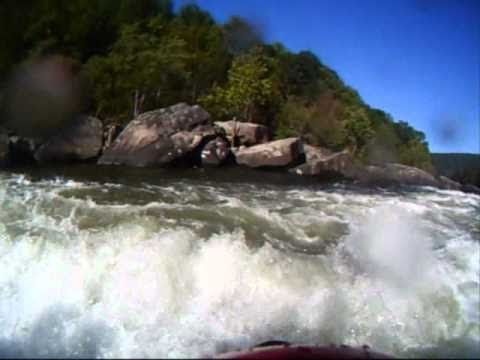 All five class 5 rapids on the upper Gauley. Action-Packed for your viewing pleasure.