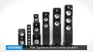 Polk Signature Series home speakers | Crutchfield video