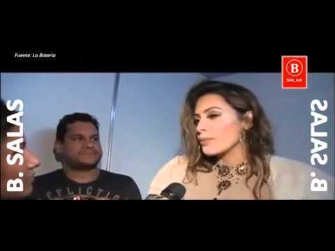 Milett Figueroa Con Vestido Transparente Semi de - Festival De Ventanilla