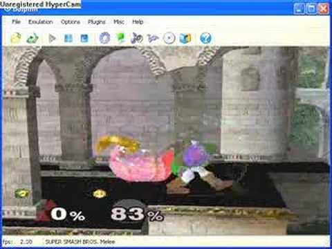 Dolphin emulator: Super Smash Bros Melee