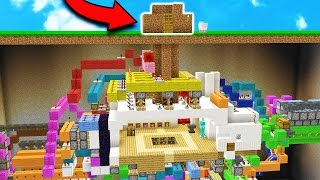 THIS DIRT MINECRAFT HOUSE WILL BLOW YOUR MIND...